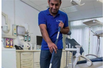 Schoonmaken van tandartspraktijk NTGR